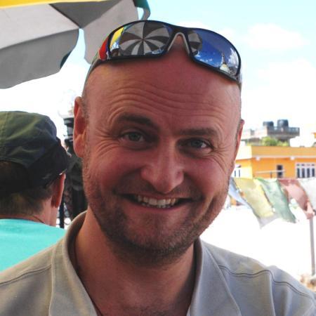 James, fondateur d'ECM Voyages