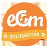Logo de l'association ECM Solidarités