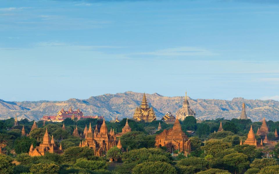 De Yangon à Bagan