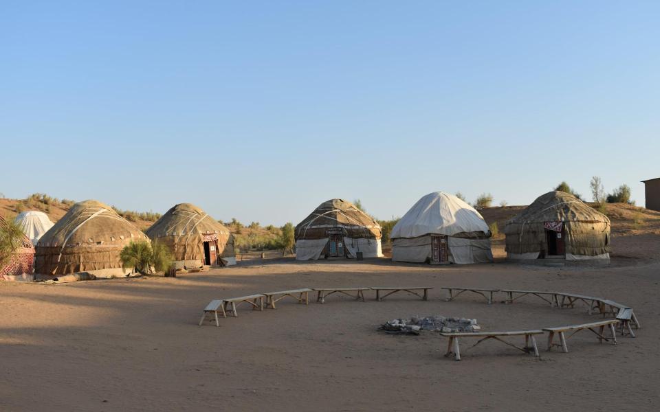 Villes mythiques et montagnes de l'Ouzbékistan