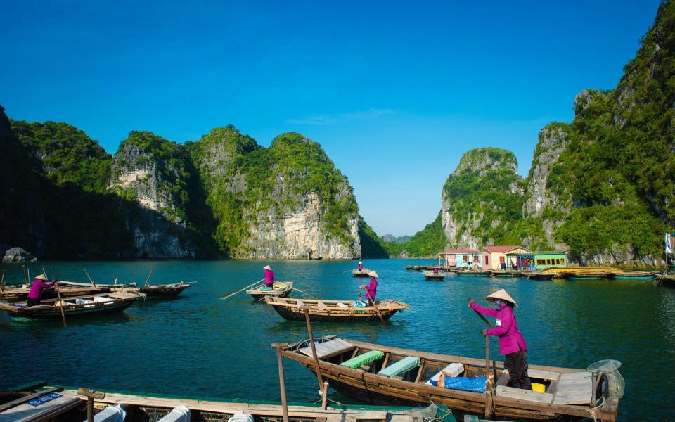 De la Baie d'Ha Long au Mékong