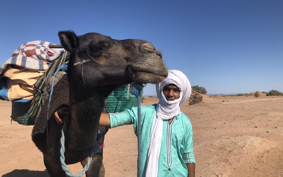 Ressourcement et bien être dans le désert marocain