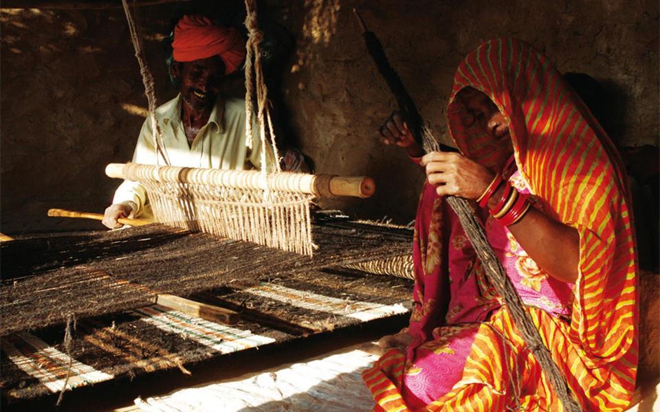 Artisans locaux du Rajasthan