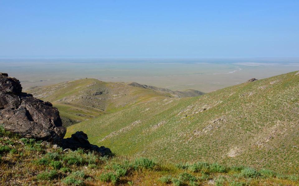 VTT sur la route de la soie en Ouzbekistan