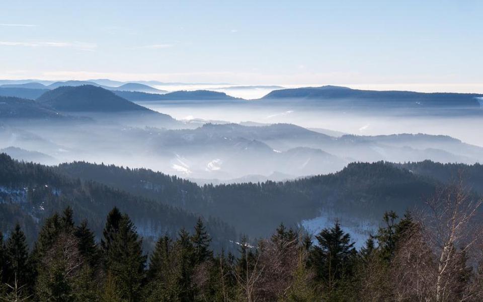 Les Hautes-Vosges en raquettes !